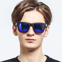 HAN CX尼龙防紫外线太阳镜-灰框蓝色片(HD59110-S16)