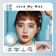Decorative Eyes UVM美妆彩片日抛10片装-LOVE MY WAY