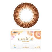 茵洛Clalen双周抛彩色隐形眼镜6片装-甜橙棕