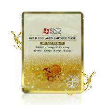 韩国SNP斯内普面膜10片-黄金胶原蛋白精华