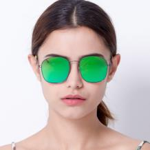 HAN SUNGLASSES防UV太阳眼镜HN52018M C3 枪框绿色片