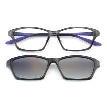 HAN TR光學眼鏡架-灰色(HN49413-C4)(送偏光鏡套)