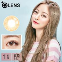 O-LENS隐形眼镜TTONE彩色半年抛1片装-单色棕