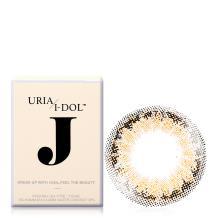 I-DOL J系列彩色隐形眼镜年抛1片装-Sugar Brown