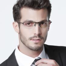 HAN時尚光學眼鏡架HD4933-F01 黑色
