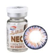 NEO蒽伊傲彩色隐形眼镜年抛一片装S5-1三色紫