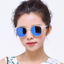 HAN时尚偏光太阳镜HD5810-S22 透明框蓝色片