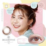 Decorative Eyes Veil美妆彩片日抛10片-LucentBrun