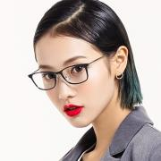 HAN时尚光学眼镜架HD3505-F02 哑黑色