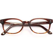 HAN时尚光学眼镜架A6016-C2 红褐色