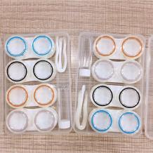 洁达四对装隐形眼镜伴侣盒B-591(颜色随机)
