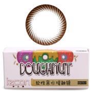 伊厶康甜甜圈月抛彩色隐形眼镜1片装-棕色