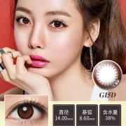 迷卡韩流时尚系列年抛一片装GI5D-迷绚巧克力