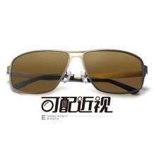 HAN不锈钢板材光学眼镜架-哑枪色近视框(JK5903-C2)