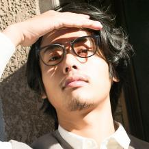 HAN COLLECTION板材光学眼镜架-亮黑色(HN42059 C1/M)