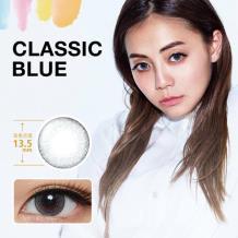 新视野Select Fairy妃妮严选彩色隐形眼镜月抛1片装-古典蓝棕