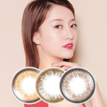 日本Femii 妃蜜莉彩色日抛隐形眼镜30片装-法式橙棕