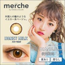 merche by AngelColor 月抛彩片2片装-HONEYMILK(海淘)