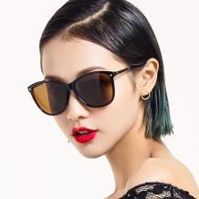 HAN时尚偏光太阳镜HDX5802-S03玳瑁框茶色片