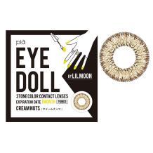EYE DOLL BY LILMOON彩色隱形眼鏡 月拋1片裝-CREAM NUTS