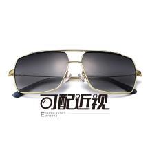 HAN不锈钢光学眼镜架-亮金色近视框(JK5905-C2)
