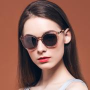 HAN RAZR-X9 板材防UV太阳眼镜-浅棕框银色片(HD59209-S04)