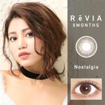 日本ReVIA蕾美彩色半年抛1片装-洛亚丽棕