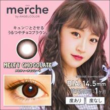 merche by AngelColor 月抛彩片2片装-MELTYCHOCOLATE(海淘)
