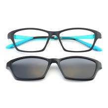 HAN TR光学眼镜架-哑黑(HN49413-C3)(送偏光镜套)