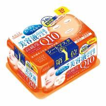 KOSE/高丝 橙色Q10紧致面膜 抽取式 30枚入  海淘专享