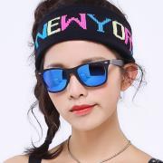 HAN时尚偏光太阳镜HD5818-S07 黑框蓝色片