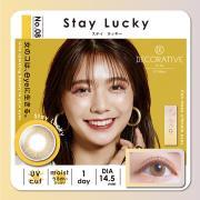 Decorative Eyes UVM美妆彩片日抛10片装-STAY LUCKY