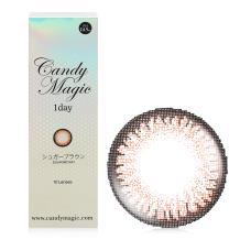 candymagic 1day彩色日抛10片装-SUGAR Brown