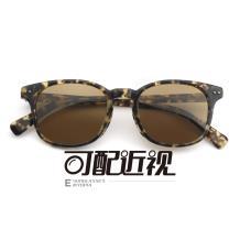 HAN SUNGLASSES板材太阳眼镜架-玳瑁框(JK59316-C5)可配近视镜片