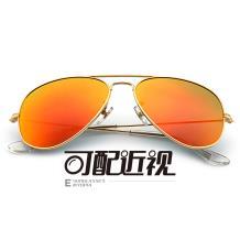 HAN不锈钢太阳眼镜架-金框(JK59312L-C3)大号
