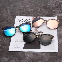 HAN SUNGLASSES PC偏光太阳眼镜-黑框蓝色片(HN55059 C2/M)