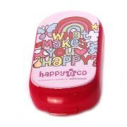 纳米银妙递Happy卡通迷你健康安全抗菌隐形眼镜护理盒