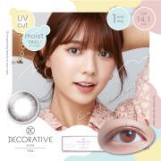 Decorative Eyes Veil美妆彩片日抛10片-Cassis Sherbet (日本同步上新)
