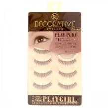 妆美堂PlayGirl DE 5对装米色上睫毛(Pure#1自然清新款)