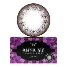 ANNASUI安娜苏月抛彩色隐形眼镜2片装-深棕蔷薇