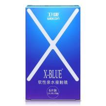 卫康X-BLUE月抛隐形眼镜6片装