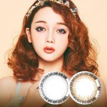 诺思Airtime摩登女郎美妆彩瞳月抛3片装G2-04-日系棕(新老包装随机发货)