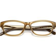 HAN时尚光学眼镜架6054A-C2 深褐茶咖