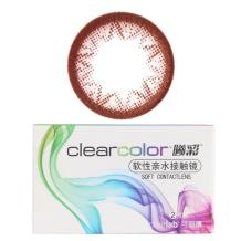 可丽博Clearcolor曦彩隐形眼镜半年抛2片装-可爱星ES12