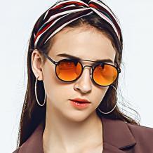 HAN不锈钢偏光太阳镜-热情橘红(HD59322-C1)