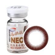 NEO蒽伊傲彩色隐形眼镜年抛一片装S010巧克力