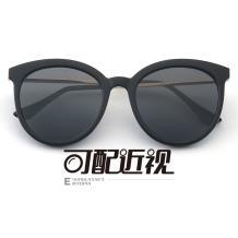 HAN SUNGLASSES PC太陽眼鏡架-亮黑近視框(HN55059 C4/M)可配近視鏡片