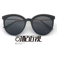 HAN SUNGLASSES PC太阳眼镜架-亮黑近视框(HN55059 C4/M)可配近视镜片