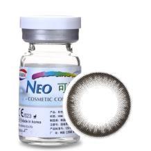 NEO可视眸自然目彩色隐形眼镜年抛一片装S4-4巨目灰