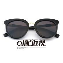 HAN SUNGLASSES PC太陽眼鏡架-亮黑(HN55043 C4/M)可配近視鏡片